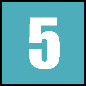 5 - Blue