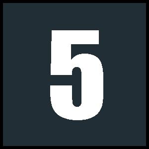 5 - White